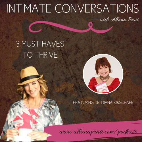 Dr. Diana Kirschner | Intimate Conversations Podcast