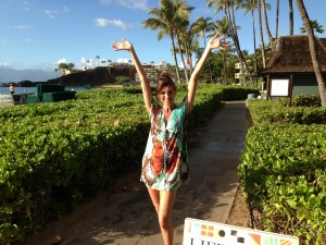 Allana Pratt in Maui for being you!