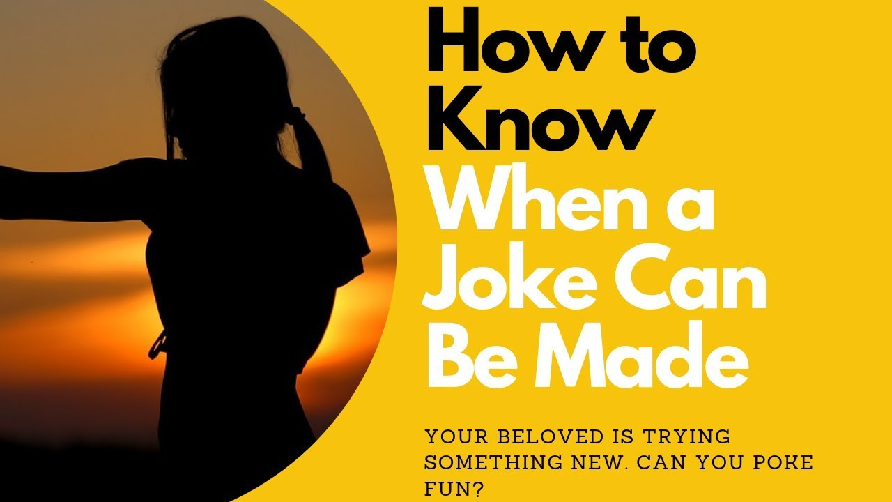How to Know When a Joke Can Be Made | Allana Pratt