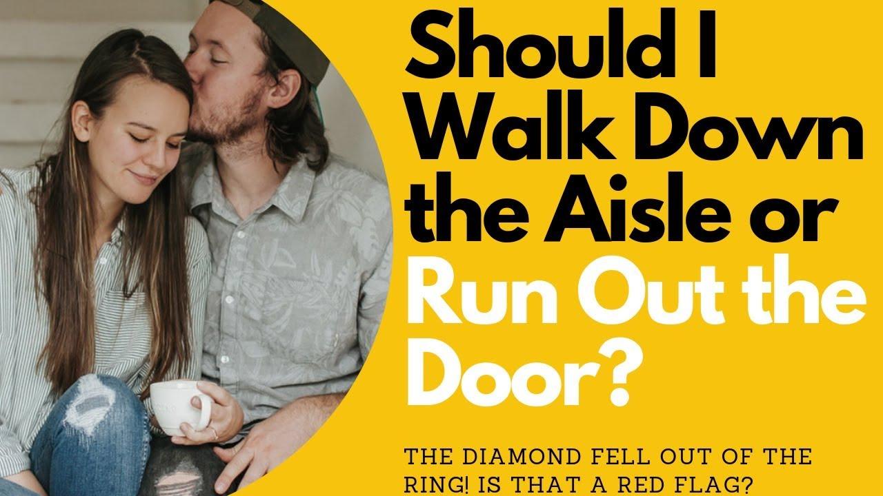 Should I Walk Down the Aisle or Run Out the Door   Allana Pratt