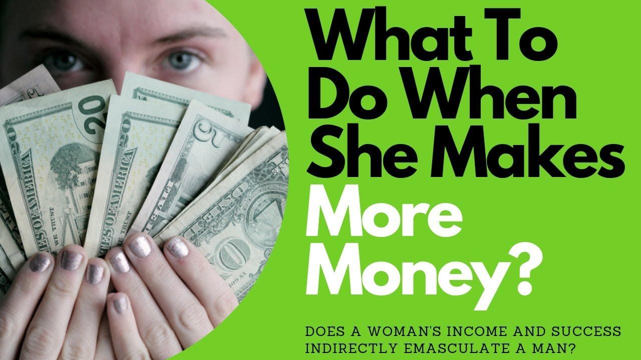 What To Do When She Makes More Money | Allana Pratt